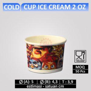 cup ice cream 2 oz