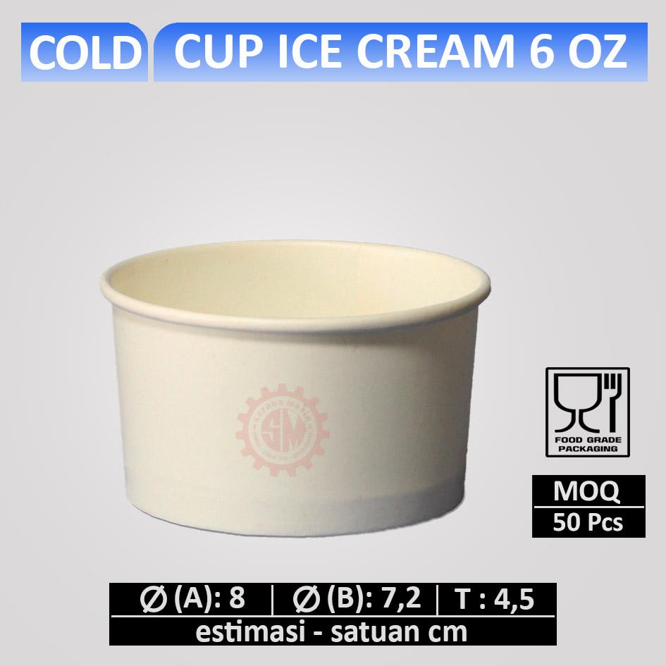Cup Es Krim 6 oz