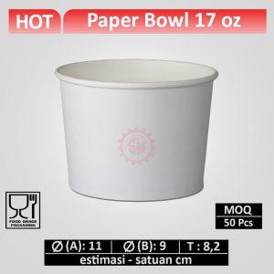 paper bowl 17 oz