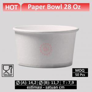 paper bowl 28 oz