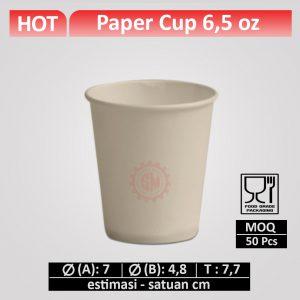 paper cup 6,5 oz