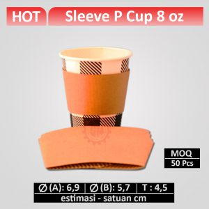 sleeve paper cup 8 oz