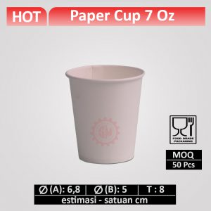 cup kertas 7 oz