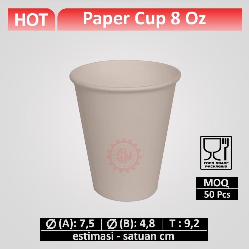 Paper Cup 8 oz
