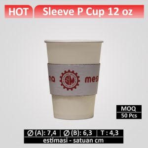 sleeve paper cup 12 oz