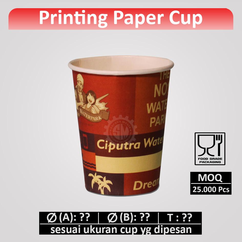 Cetak Paper Cup (printing)