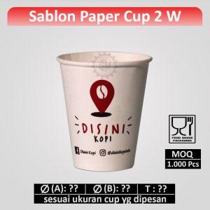 sablon gelas kertas