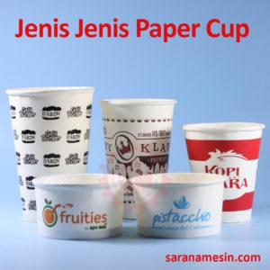 jenis jenis paper cup